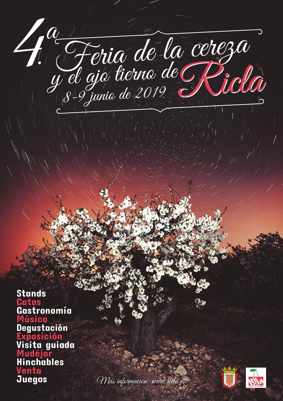 Cartel IV Feria de la Cereza de Ricla