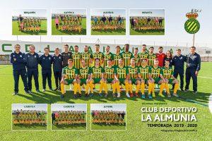 Fotografia CD La Almunia Temporada 2019-2020 Imagina Arte Gráfico