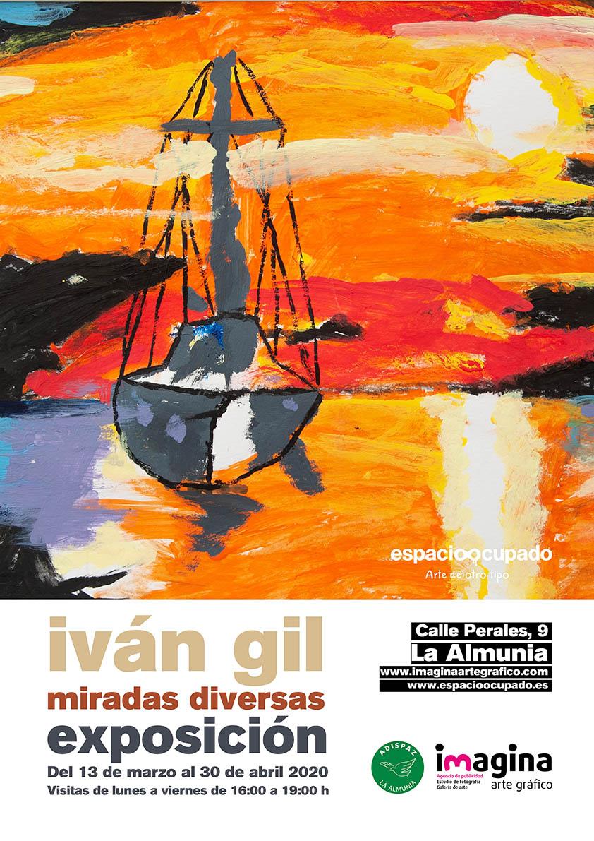 Exposición de Iván Gil - Miradas diversas -Imagina Arte Gráfico