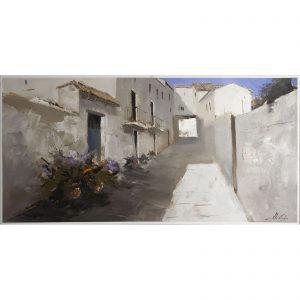 Rueda de Jalón - Concurso de Pintura Rápida - Obra premiada - 60x120 Imagina Arte Gráfico