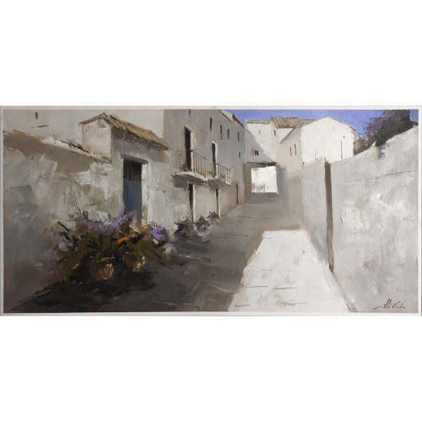 Rueda de Jalón - Óleo sobre lienzo premiado