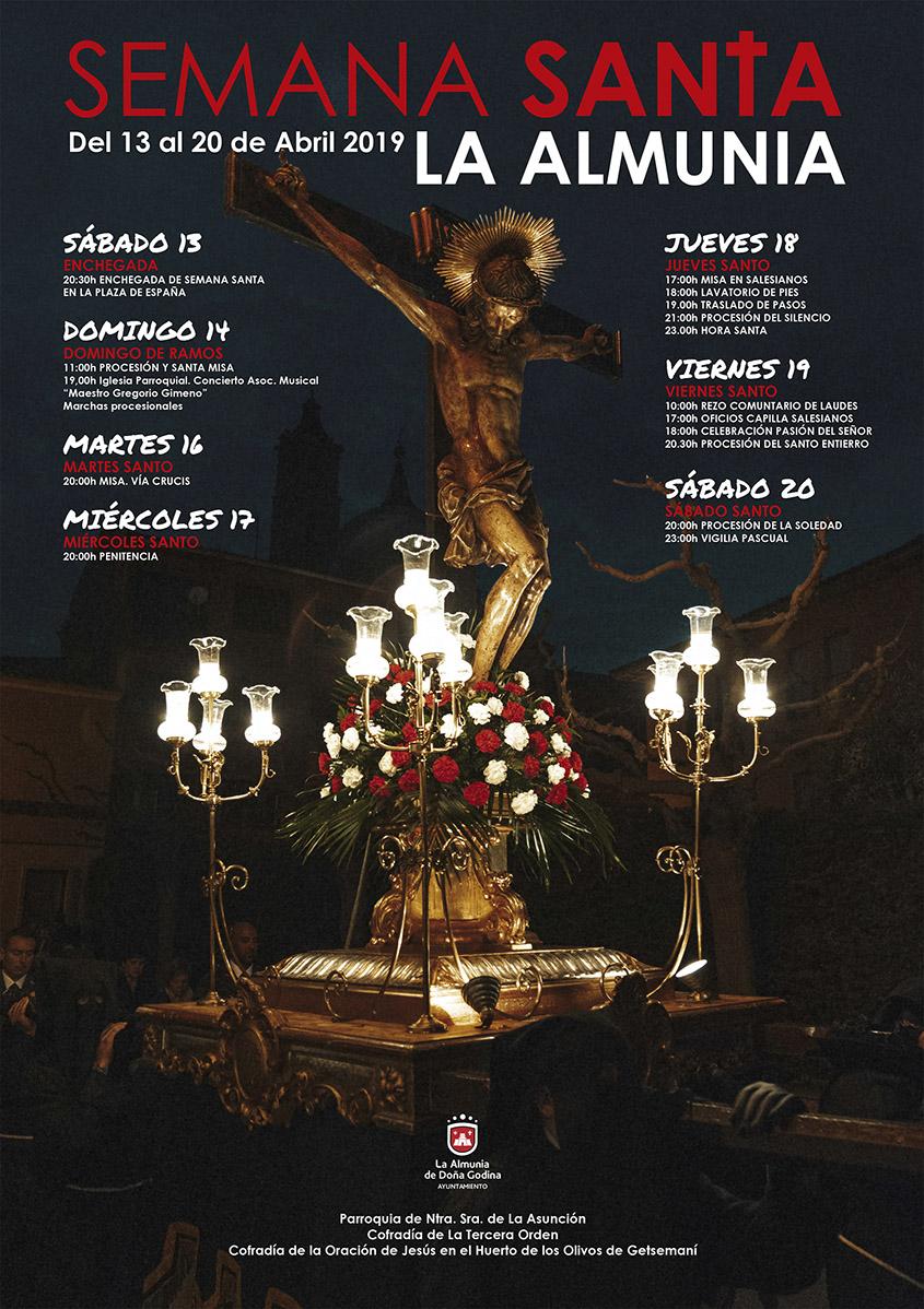 Publicidad Semana Santa La Almunia