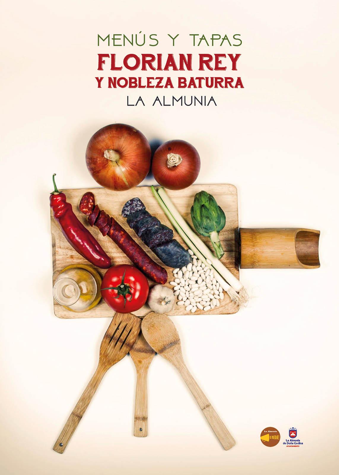 Cartelería Menús y Tapas Florián Rey – Nobleza baturra