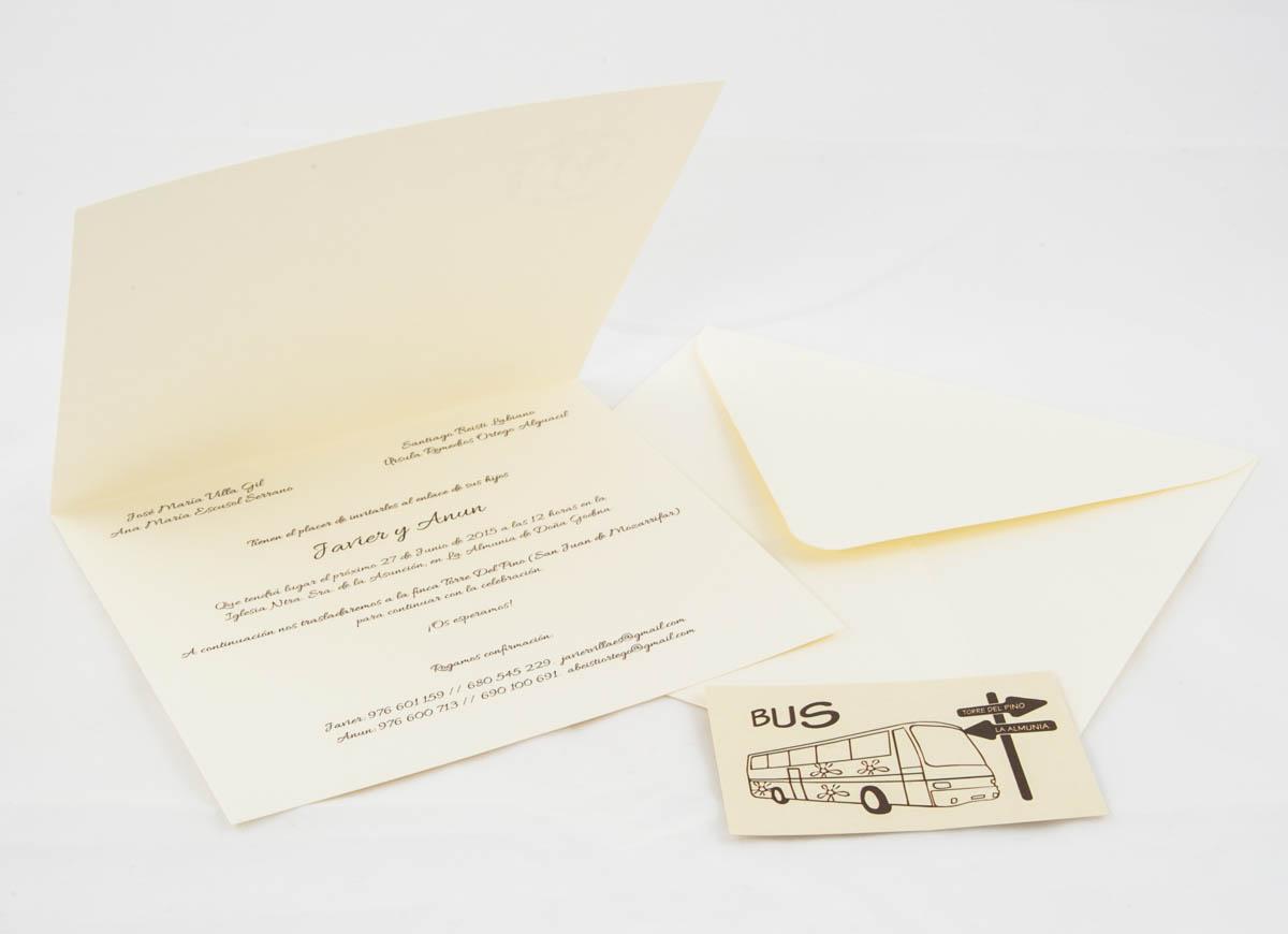 Invitacines de boda personalizadas - Imagina Arte Gráfico
