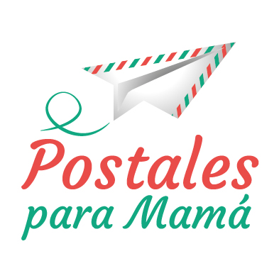 Logo Postales para mamá
