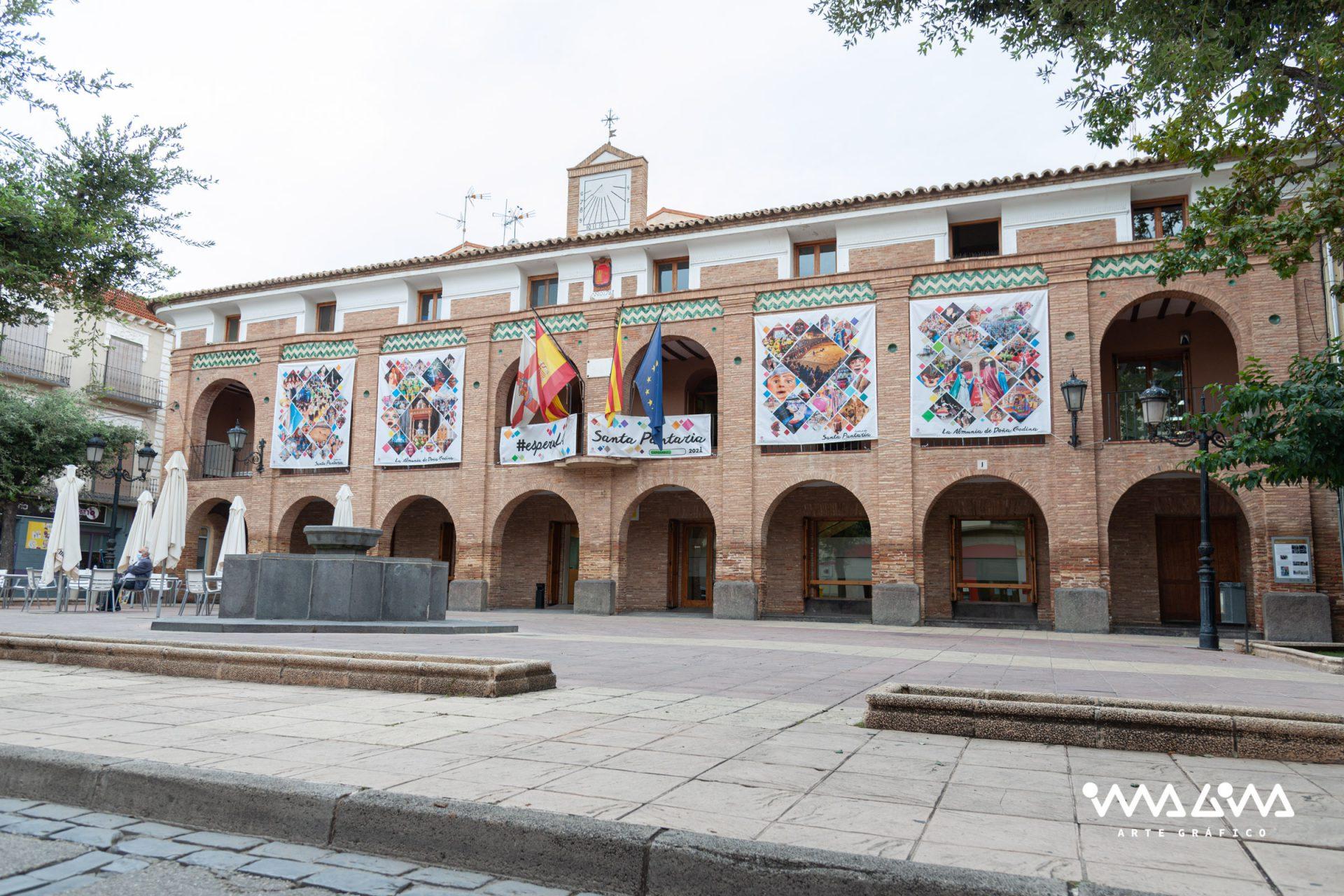 Decoración Ayuntamiento de La Almunia