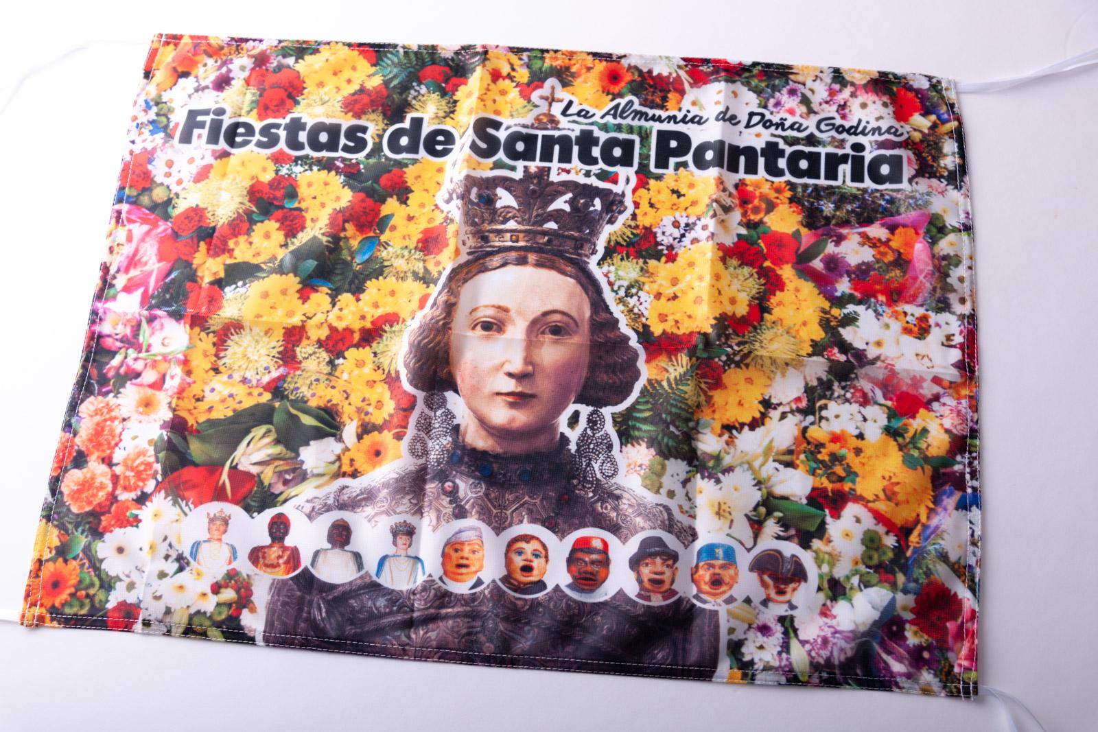 Bandera Santa Pantaria - Imagina Arte Gráfico