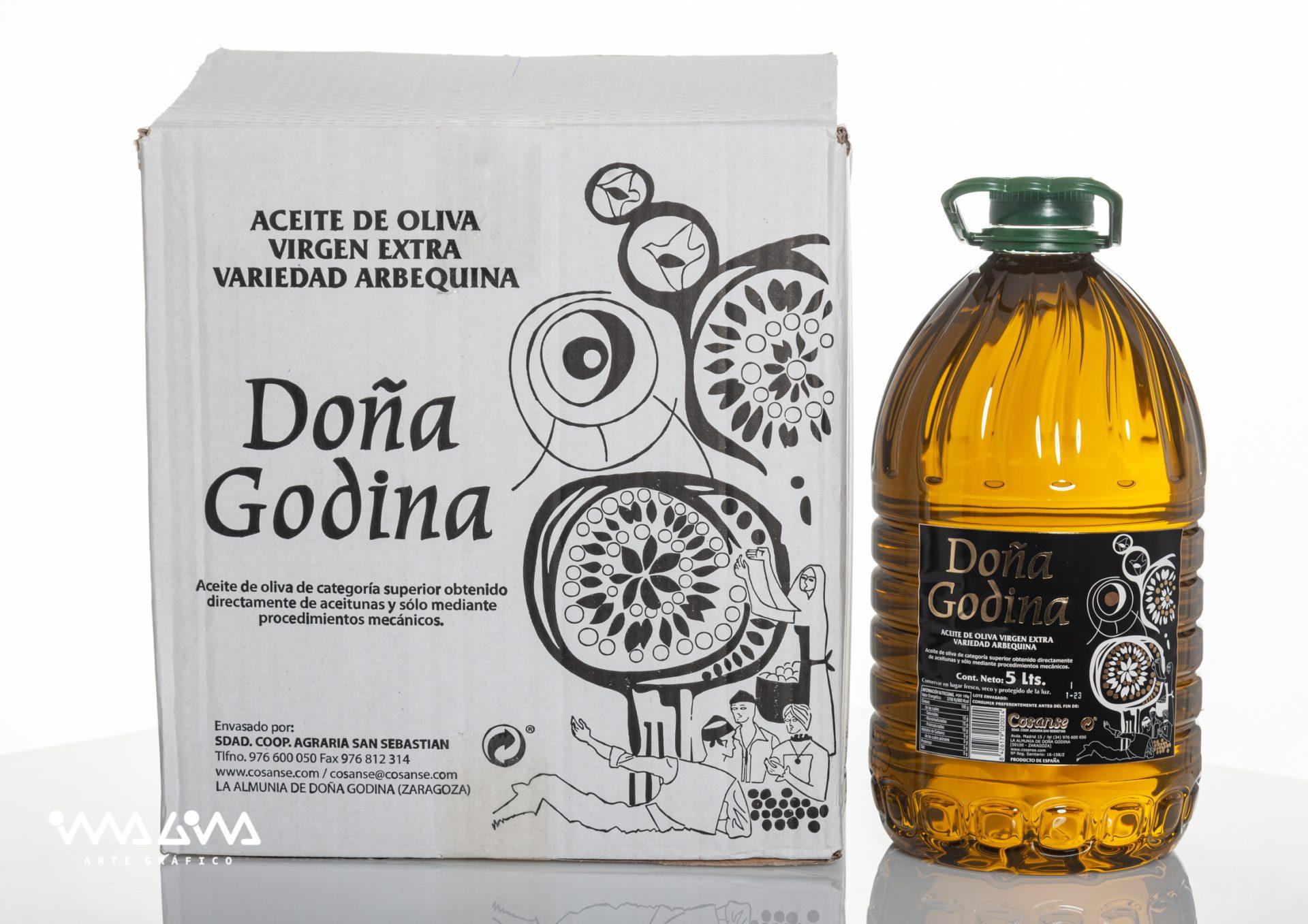 Envase aceite Doña Godina