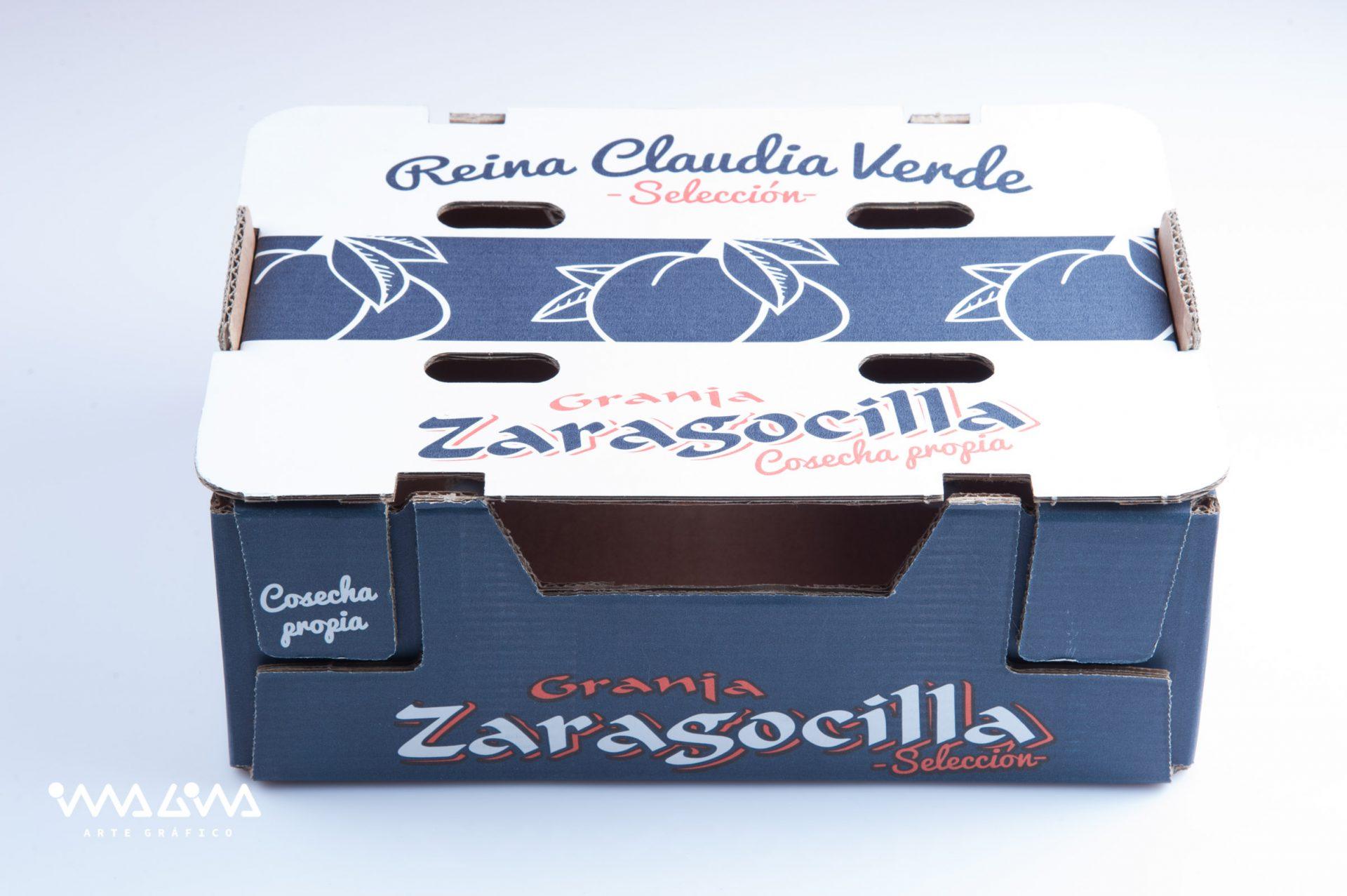 Diseño envase Ciruelas La zaragocilla