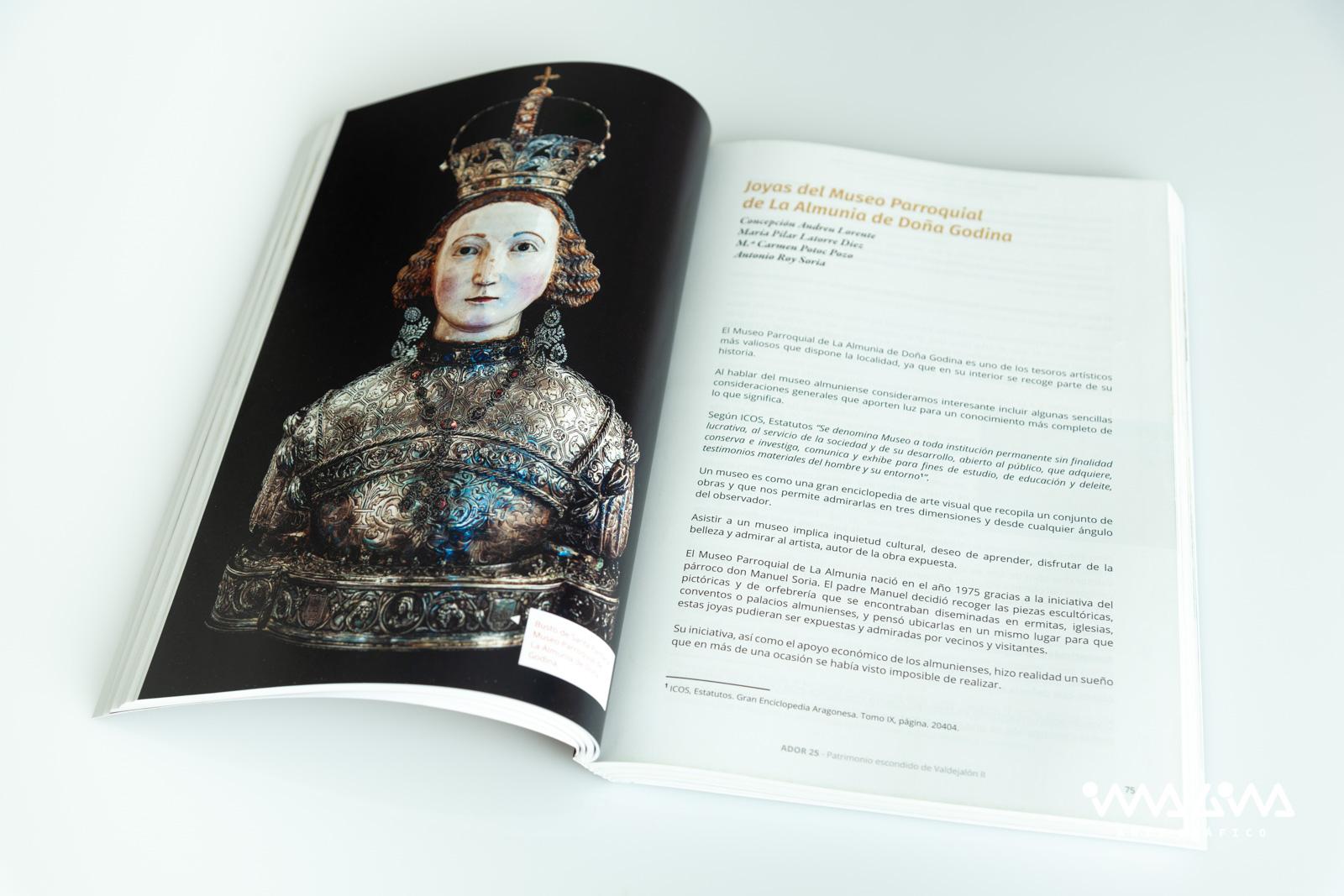 Libro Ador XXV - Centro de Estudios Almunienses - Imagina Arte Gráfico