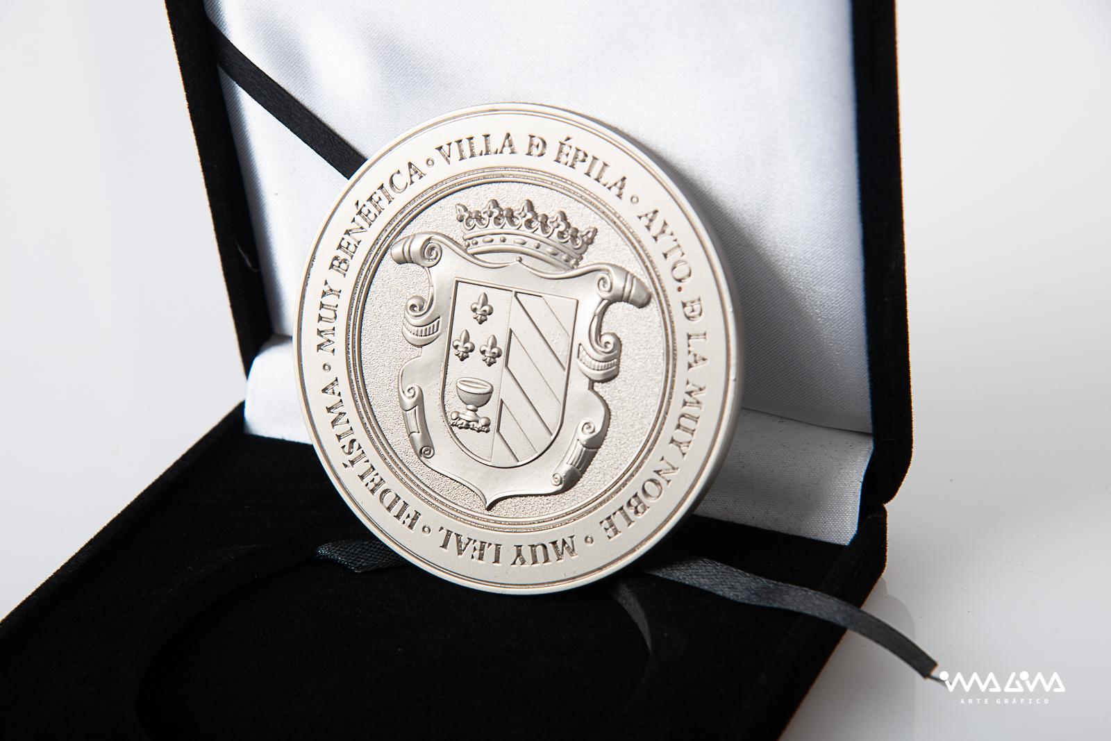 Moneda personalizada - Conde Aranda - Ayuntamiento de Épila - Imagina Arte Gráfico