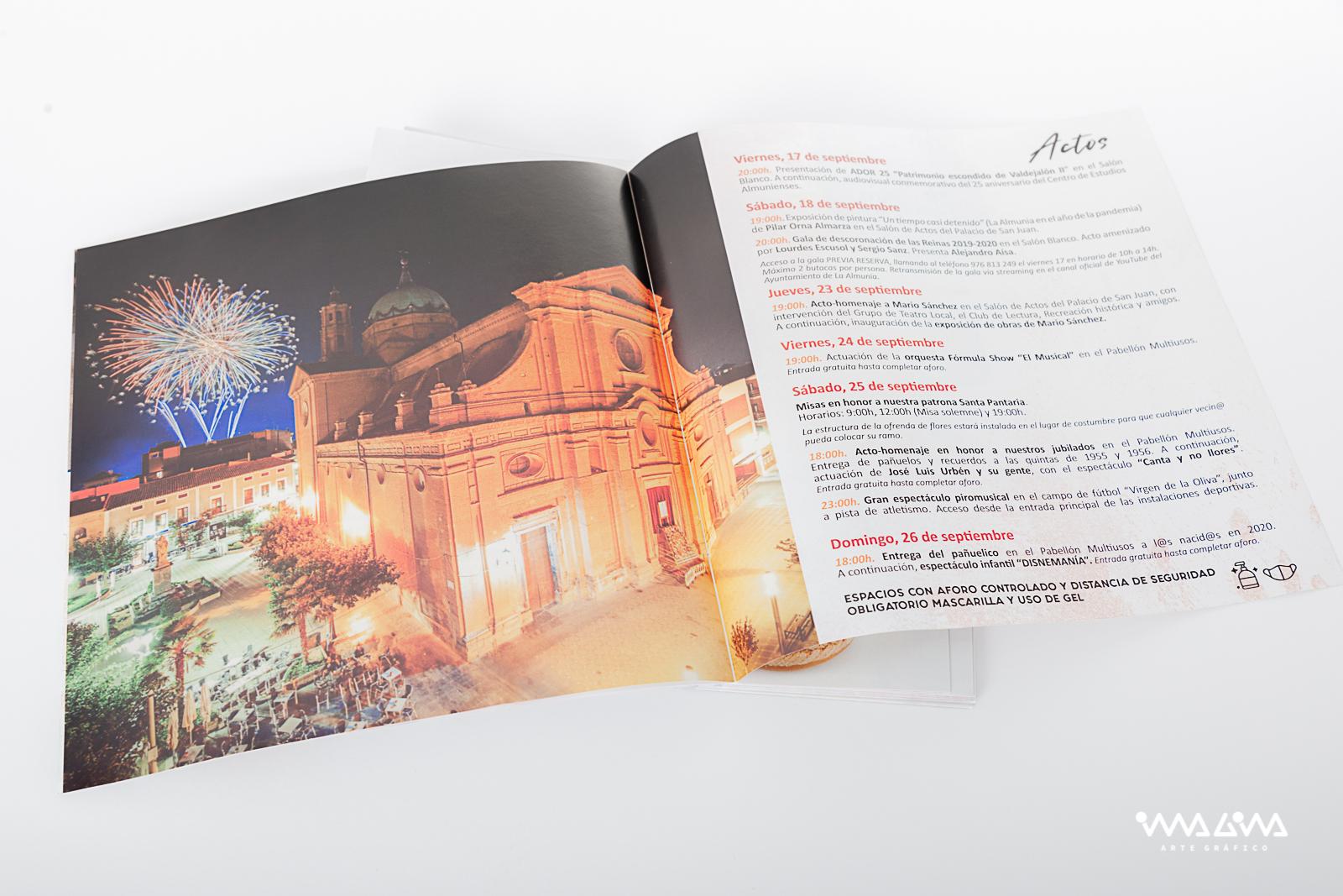 Programa No Fiestas de Santa Pantaria 2021 - Imagina Arte Gráfico